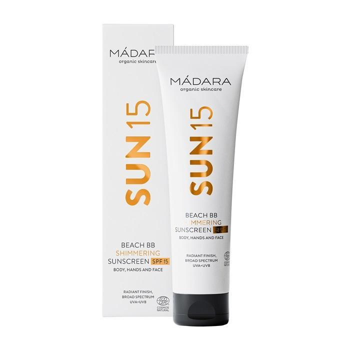 MÁDARA Beach BB Shimmering Sunscreen SPF15