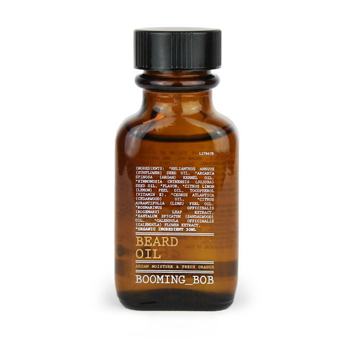 Beard Oil Argan Moisture & Fresh Orange 30 ml EKO - nutrients.se