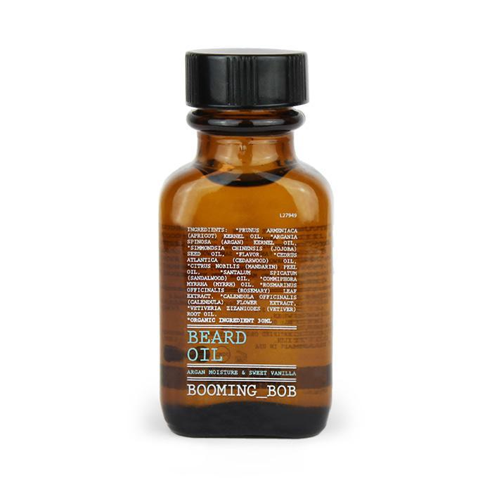 Beard Oil Argan Moisture & Sweet Vanilla 30 ml EKO - nutrients.se