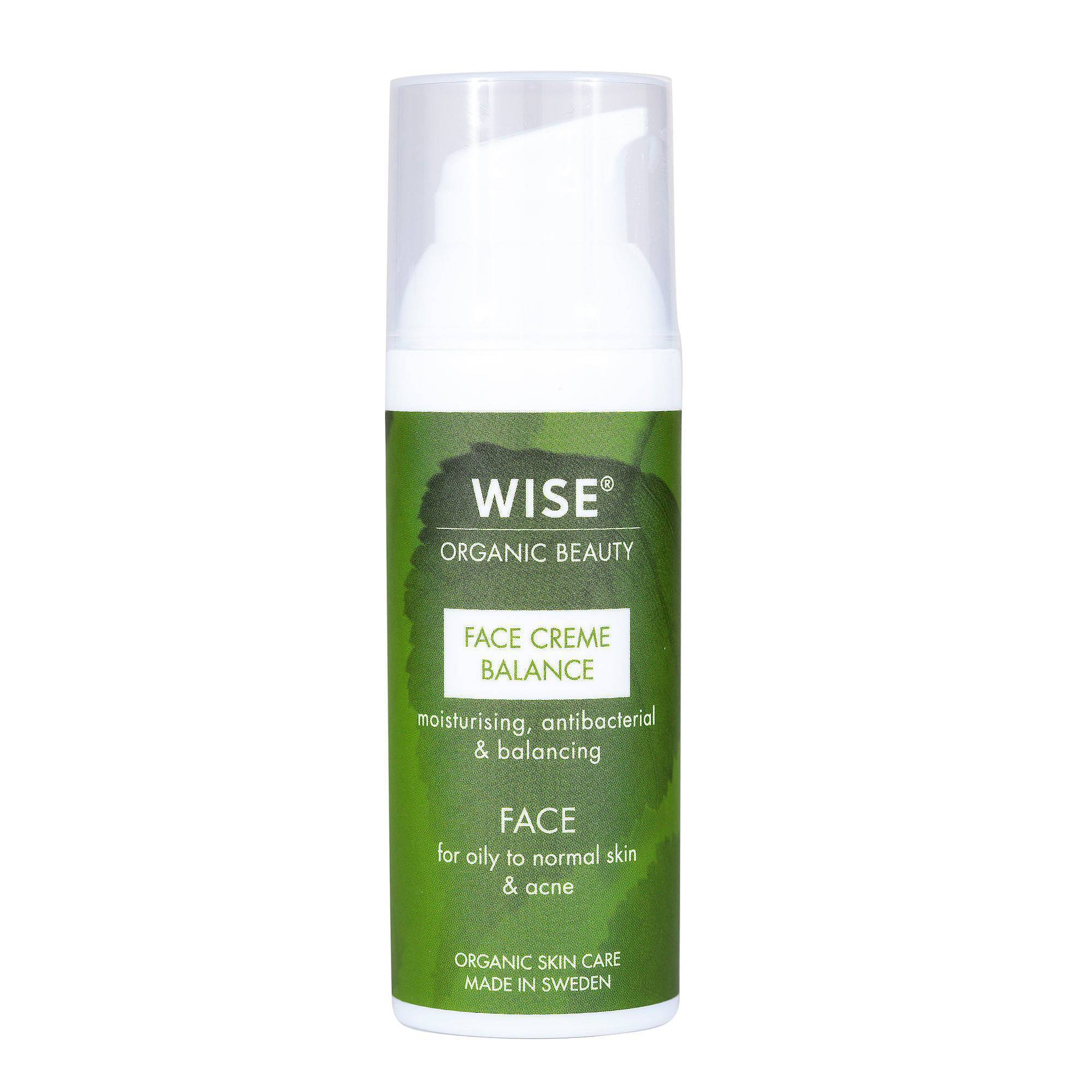 Wise Naturkosmetik Face creme Balans 50 ml