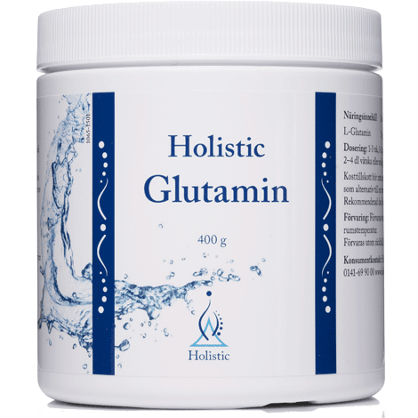 Glutamin 400g - nutrients.se