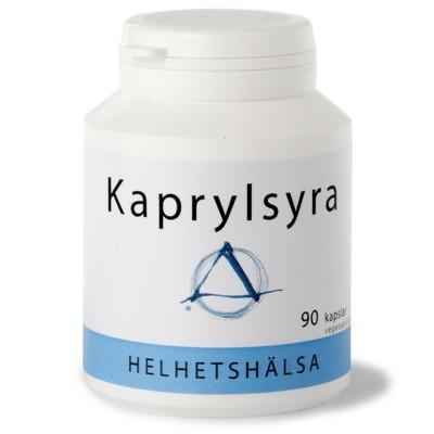Kaprylsyra 370mg 90k veg - nutrients.se