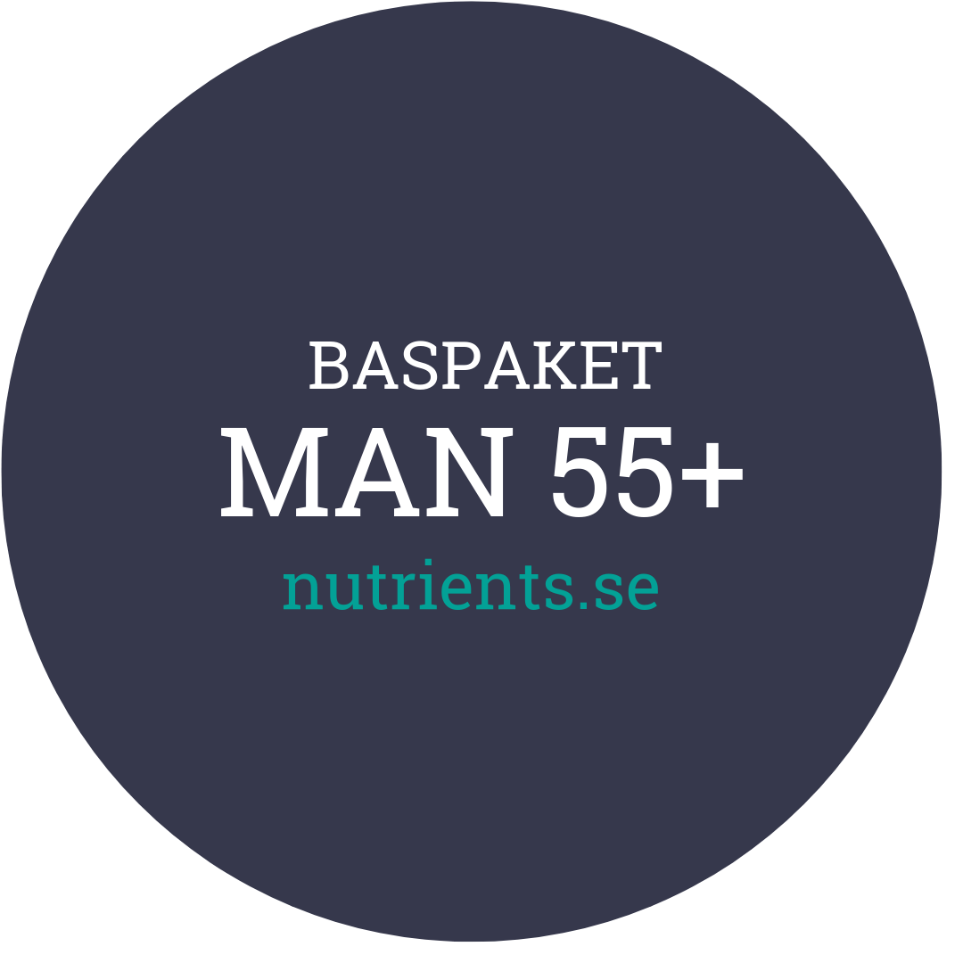 Man 55+ - nutrients.se