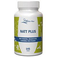 Natt Plus 145g Vegan - nutrients.se