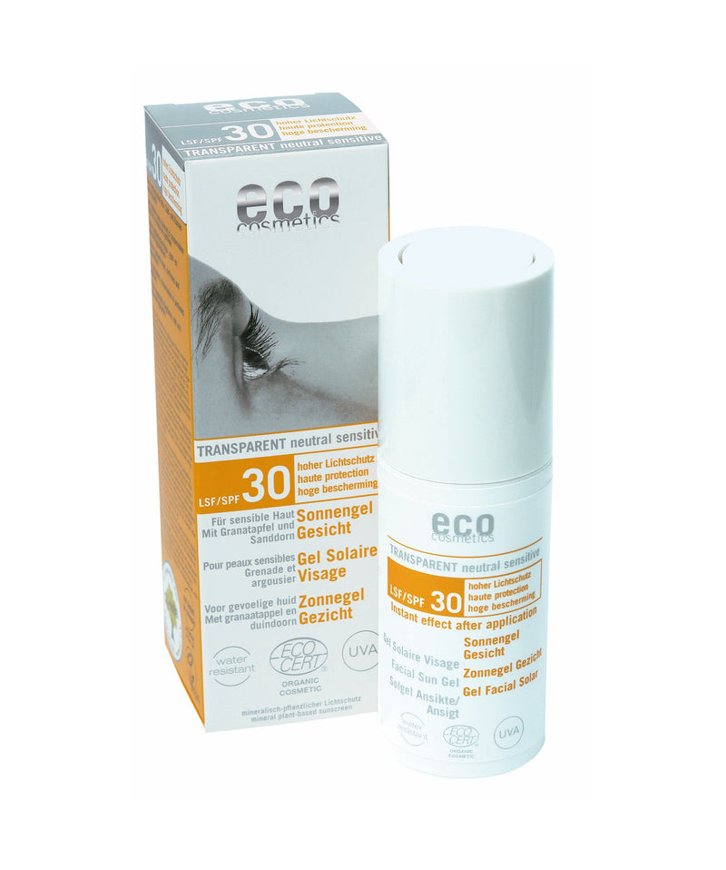 Solgel 30 SPF Ansikte 30ml, EKO - nutrients.se