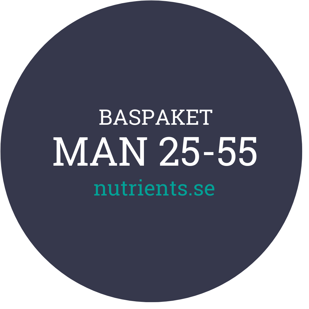 Man 25-55 - nutrients.se