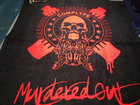 COMPLYFE MURDEREDOUT TOWEL