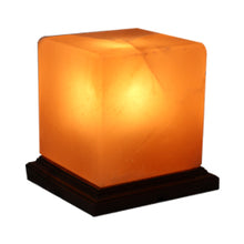 Load image into Gallery viewer, Himalayan Rock Salt Lamp in Square Shape