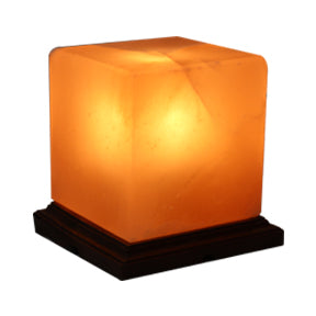 Himalayan Rock Salt Lamp in Square Shape