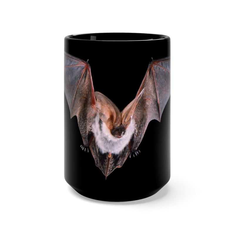 Spotted Bat Black Mug 15oz