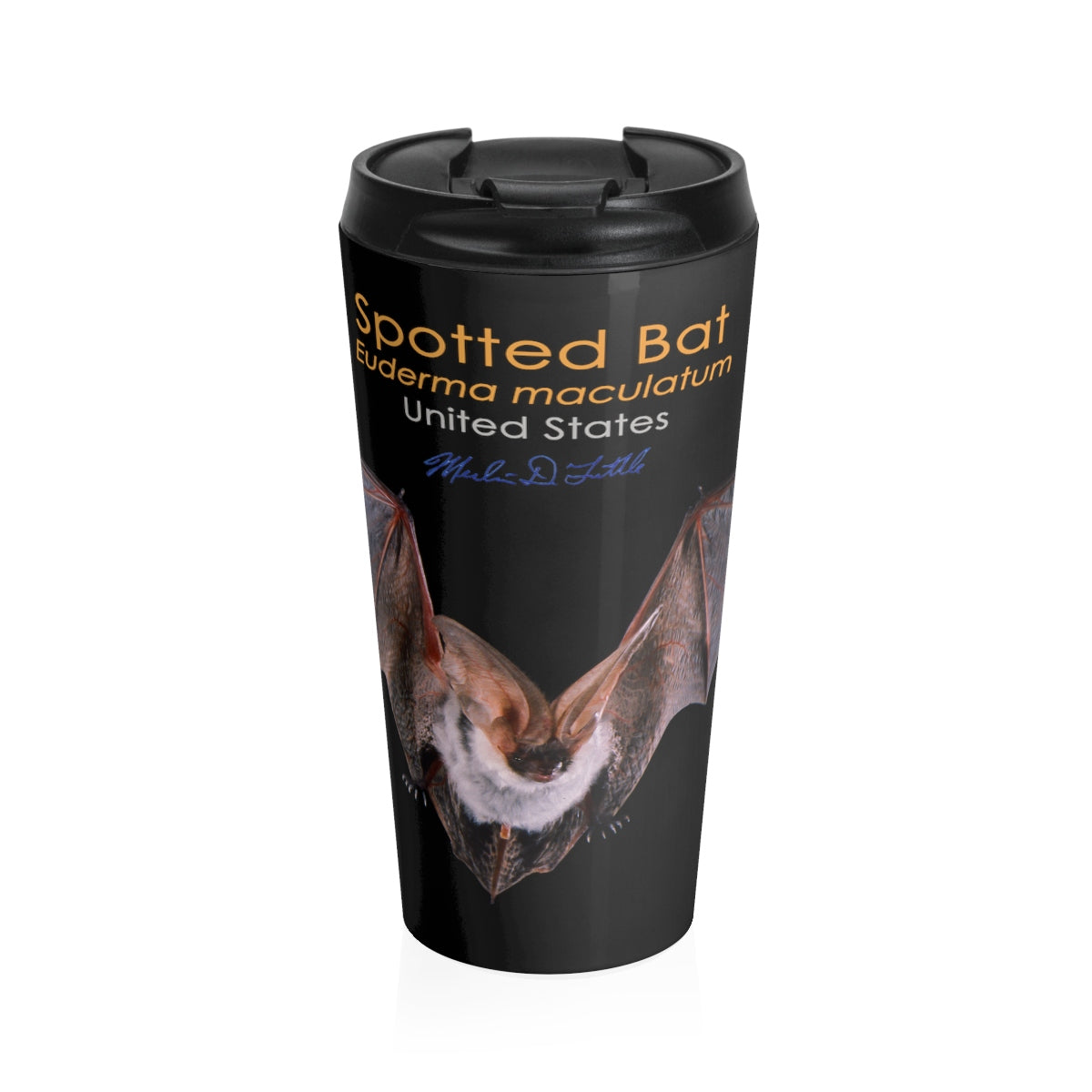 c0a8cc135d7 Spotted Bat Stainless Steel Travel Mug