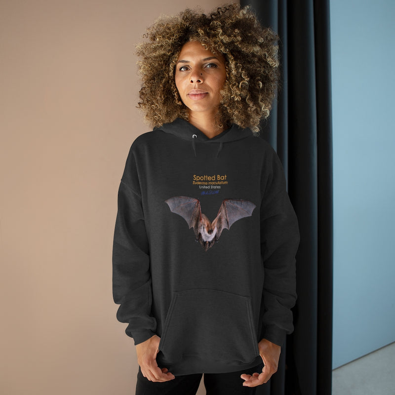 Spotted Bat - Unisex French Terry Hoodie