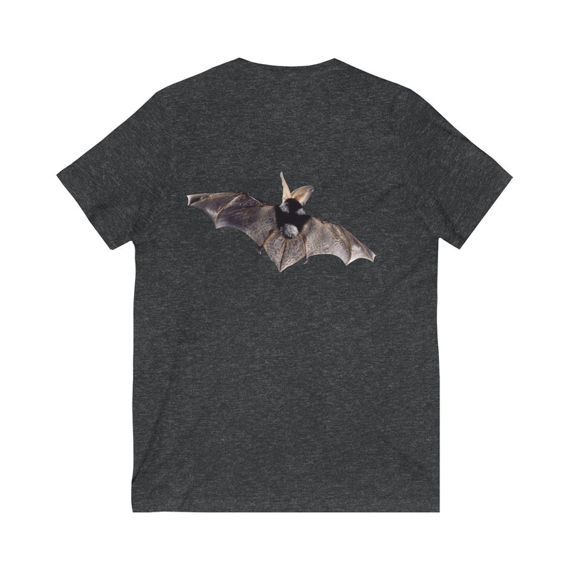 Experience Texas Bats 2019 - Unisex Jersey Short Sleeve V-Neck Tee -2 sided