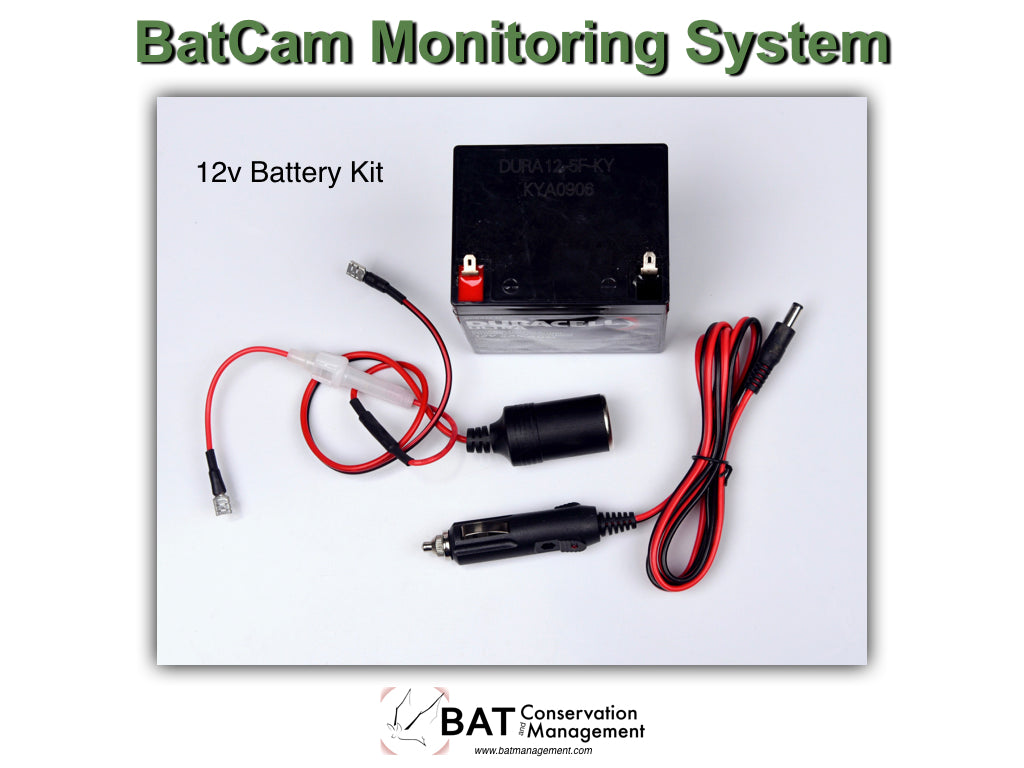 BatCam 12v Power Kit
