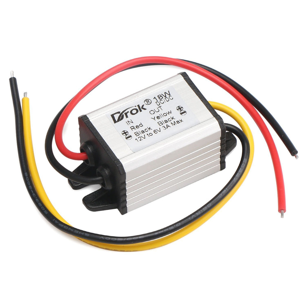 DROK 12V to 6V Battery Converter