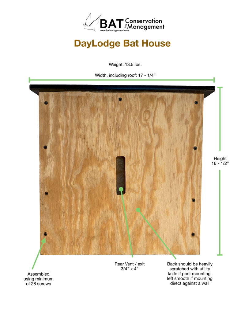 DayLodge - DIY Kit - Triple Chamber, Plywood