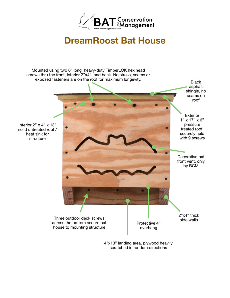 DreamRoost Bat House