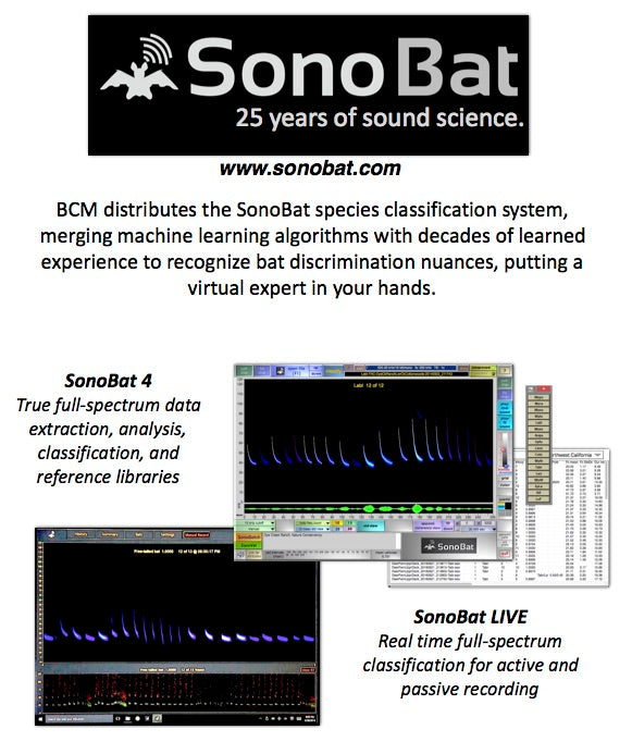 SonoBat 4 North America