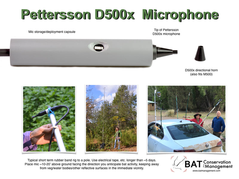 Pettersson D500x Microphone Directional Horn