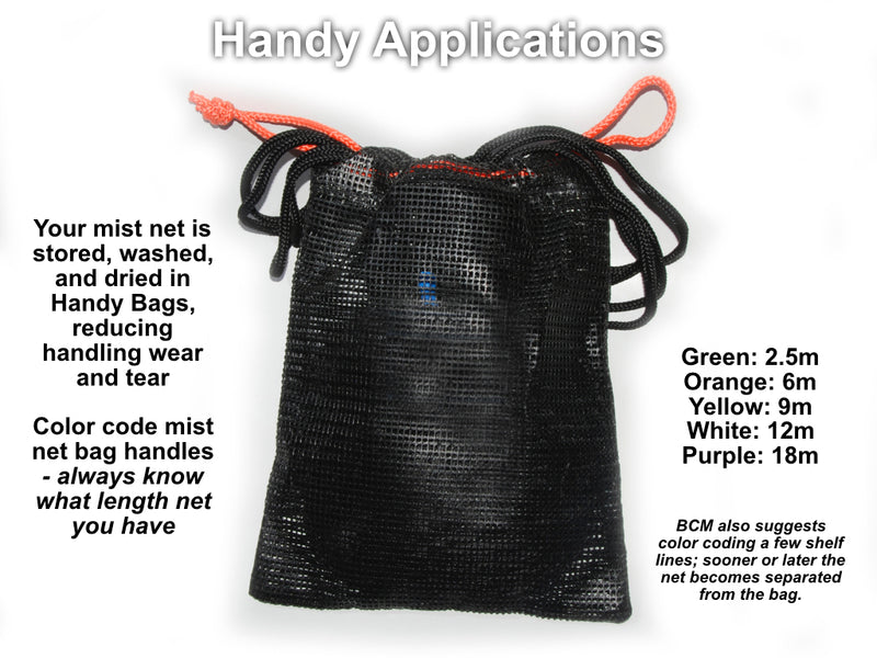Handy Rope - Guy Rope for Small Mist Nets and Handy Bags