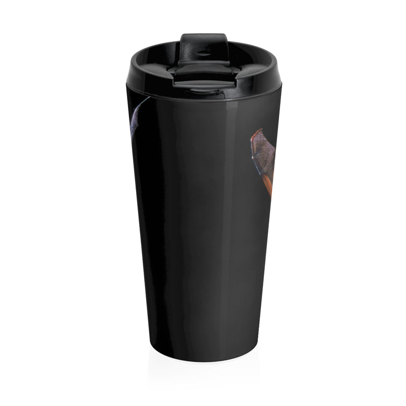 Hoary Bat Stainless Steel Travel Mug