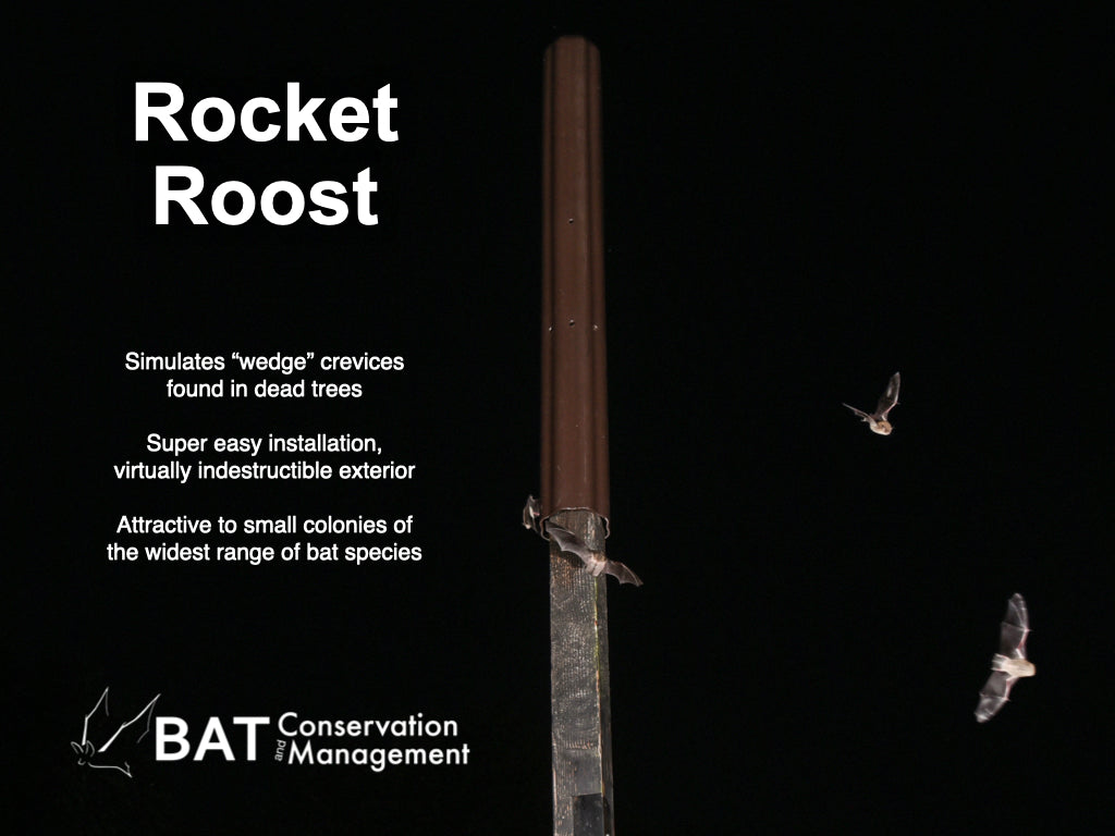 Rocket Roost Bat House - Artificial Tree