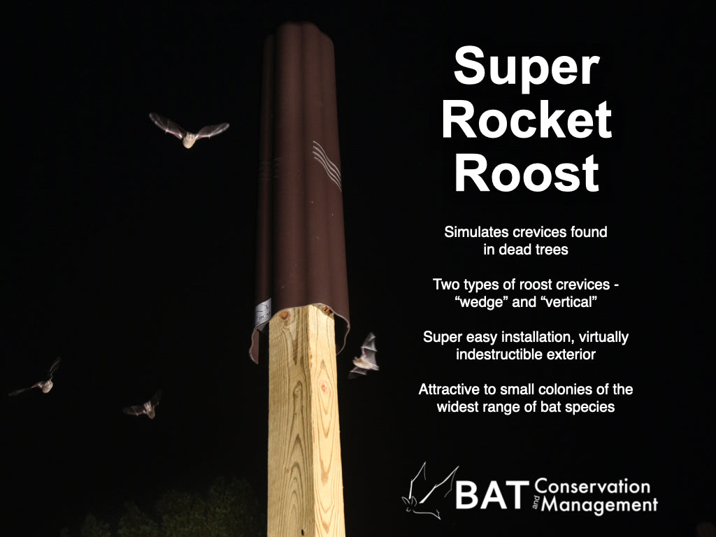 Super Rocket Roost - Artificial tree bat roost