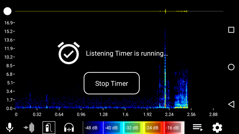 Bat Recorder app for Android