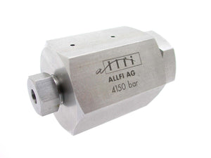 "Allfi Waterjet 1/4"" to 9/16"" Reducer Coupling, 60k Standard/Imperial, Female to Female"