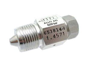 "Allfi Waterjet 3/8"" Male to 1/4"" Female Reducer Coupling, 60k Standard/Imperial Thread"