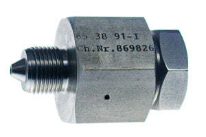 "Allfi Waterjet 3/8"" Male to 9/16"" Female Reducer Coupling, 60k Standard/Imperial Thread"