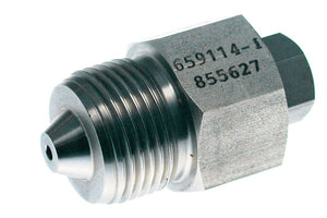 "Allfi Waterjet 9/16"" Male to 1/4"" Female Reducer Coupling, 60k Standard/Imperial Thread"