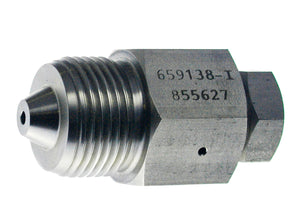 "Allfi Waterjet 9/16"" Male to 3/8"" Female Reducer Coupling, 60k Standard/Imperial Thread"