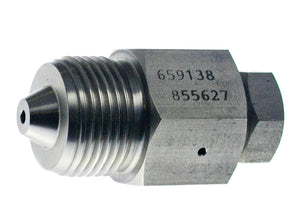 "Allfi Waterjet 9/16"" Male to 3/8"" Female Reducer Coupling, 60k Metric Thread"