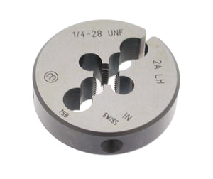 "Replacement Threading Die 1/4""-28 UNF LH Version (HP 160) - Allfi Waterjet P/N 880416"