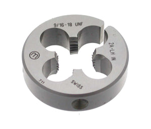 "Replacement Threading Die 9/16""-18 UNF LH - Allfi Waterjet P/N 880601"