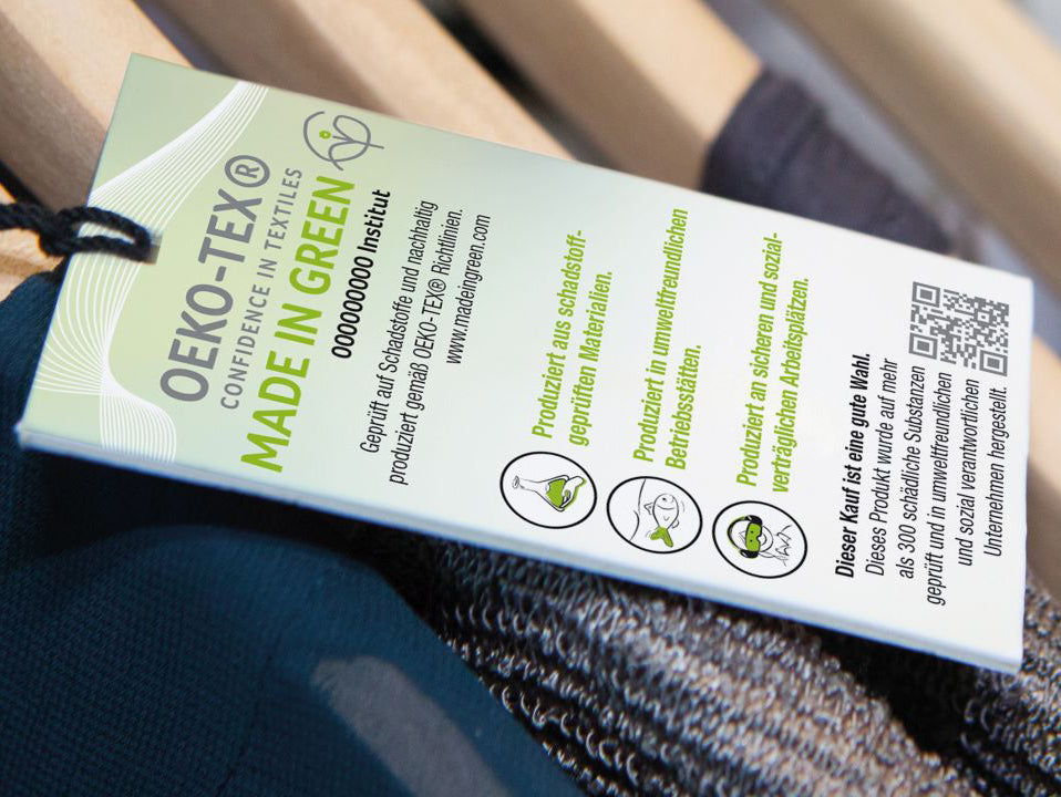 Atelier Unes - Les labels - Certification MADE IN GREEN by OEKO-TEX®