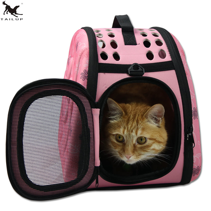 Tail Up Foldable Pet Carrier