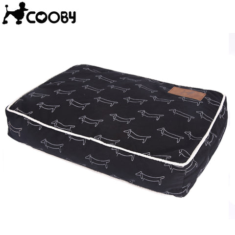 Cooby Dog Print Bed - The Animal House