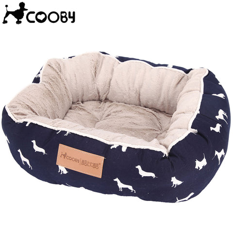 Cooby Plush Pet Bed - The Animal House