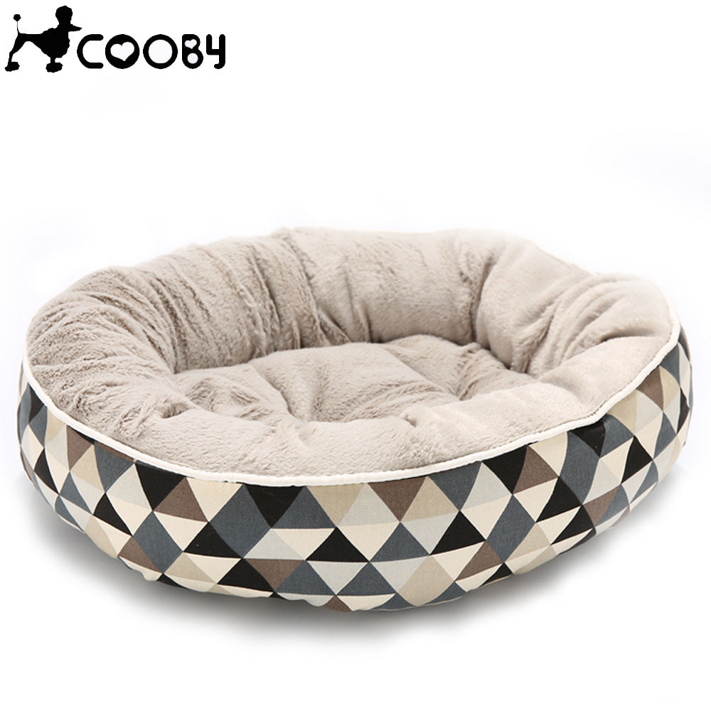 Cooby Plaid Pet Bed