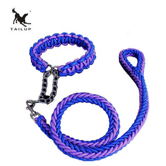 Tailup Braided Halting Leash