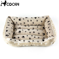 Cooby Paw Print Bed