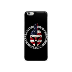 Strength, Courage and Wisdom iPhone Case