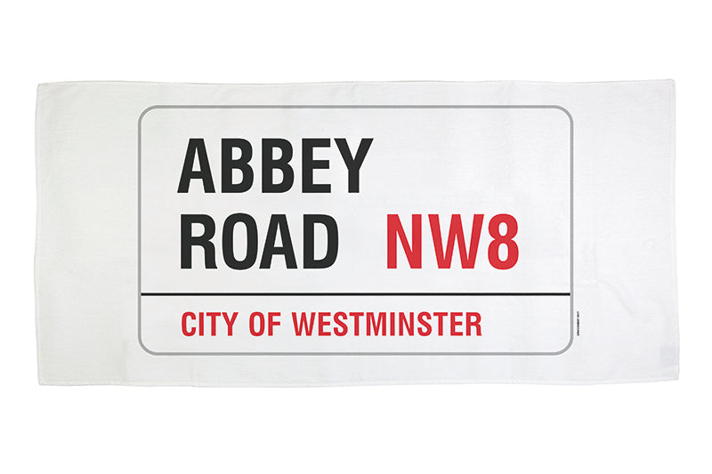 Abbey Road Beach Towel