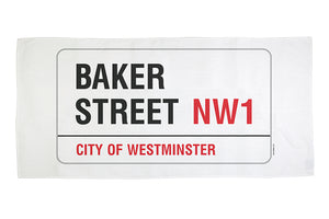 Baker Street Beach Towel