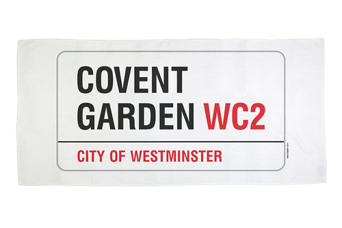 Covent Garden Beach Towel
