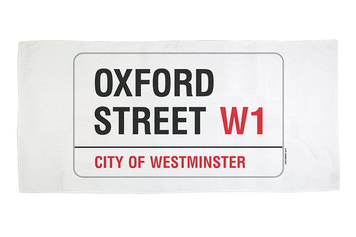 Oxford Street Beach Towel