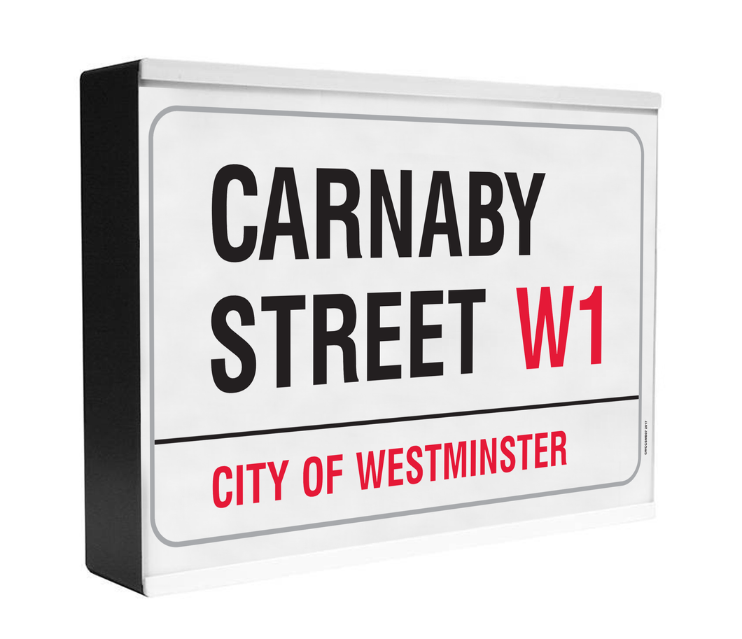 Carnaby Street Light Box