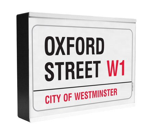 Oxford Street Light Box